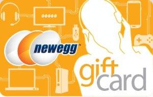 额外10%礼卡点数买$50, $100, $200 Newegg礼卡即可获赠