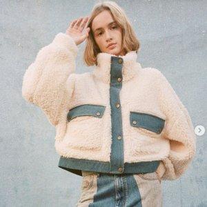 2.5折起 泰迪熊大衣£24!Urban Outfitters 大衣外套极限低价!泰迪熊、牛仔夹克都在线