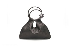 Moon Scooper lambskin bag - Brown– Cuixu