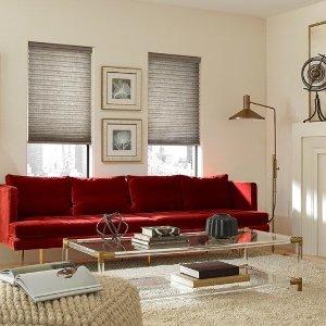 低至6折 + 免运费Blinds.com 全场定制百叶窗、窗帘等年末促销