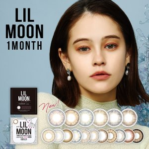 [Contact lenses] LIL MOON / EYE DOLL [1 lenses / 1Box] / Monthly Disposal 1Month Disposable Colored Contact Lens DIA14.5mm