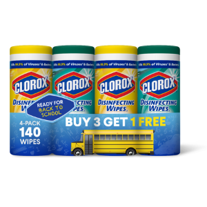 Clorox Disinfecting Wipes (140 Count Value Pack), Bleach Free Cleaning Wipes - 4 Pack - 35 Count Each - Walmart.com