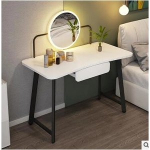 George OliverVanity Set With Lighted Mirror Bedroom Vanity Makeup Dressing Table With 1DrawerVanity Set With Lighted Mirror Bedroom Vanity Makeup Dressing Table With 1DrawerShipping & ReturnsMore to Explore