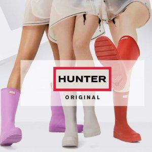 低至6折 时髦保暖靴袜$16起Hunter 雨靴热卖,糖果色的夏天