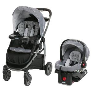 史低价$380.44(原价$679.99)Graco Modes 3合1 婴儿豪华手推车+汽车座椅套装