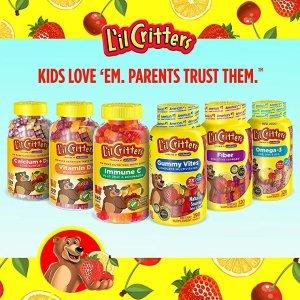 低至买1件第2件半价L'il Critters 小熊糖儿童多种维生素促销