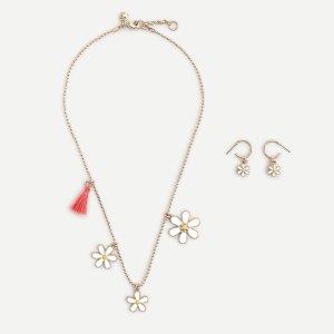 J.CrewGirls' daisy gift set