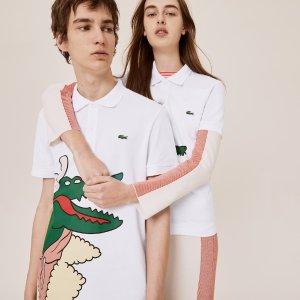 7折 免邮 收黄子韬同款Lacoste 艺术家联名系列上新 可可爱爱 趣味横生