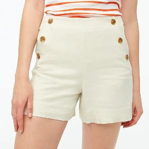 J.Crew排扣短裤