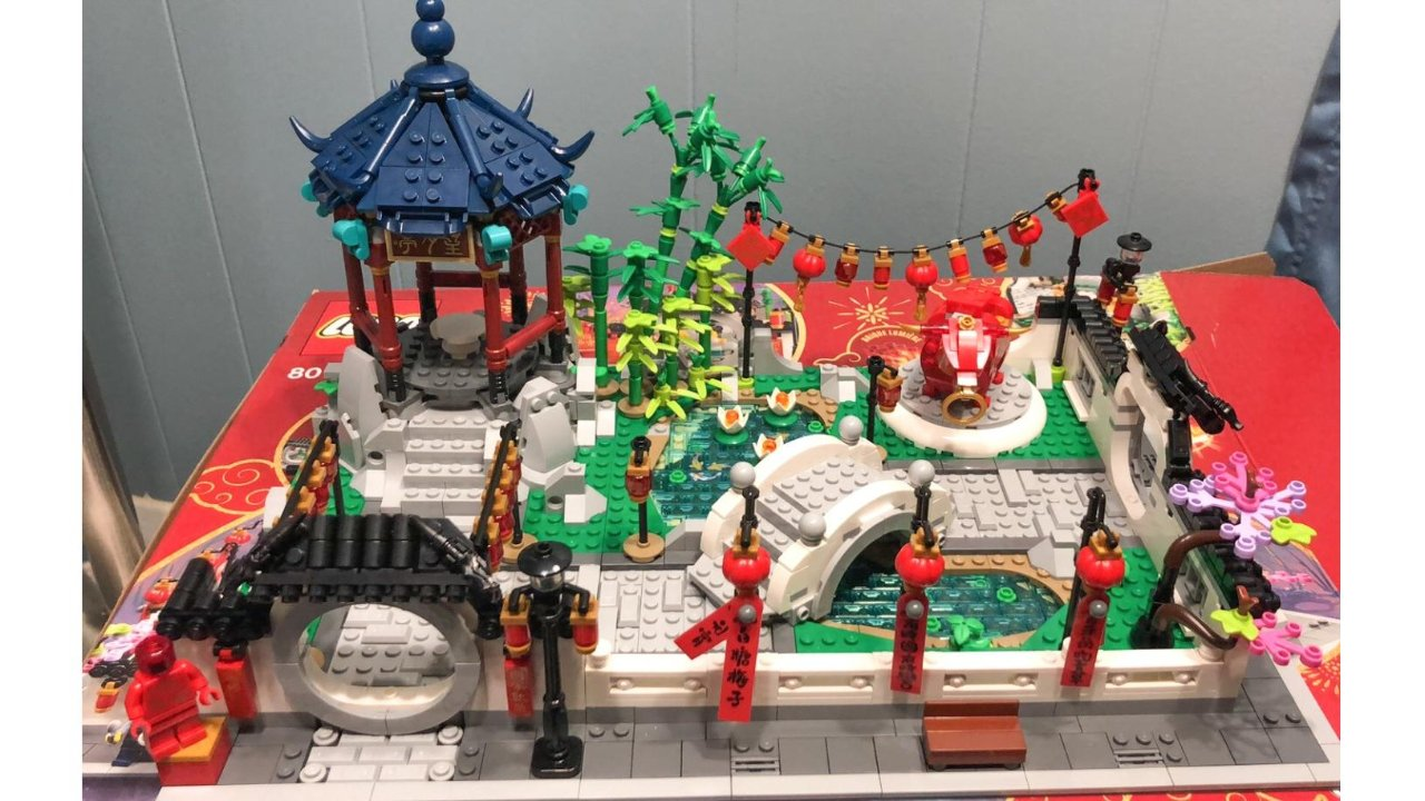 Lego80107  元宵灯会—快快乐乐闹元宵