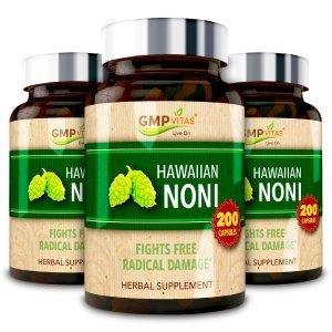 GMP Vitas现价3瓶$39.2,相当于$13/瓶抗辐射、提高免疫力诺丽果清肺宝