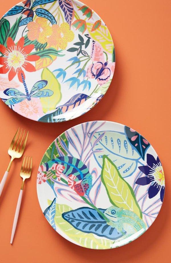热带雨林主题餐盘