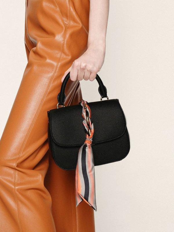丝带手提包