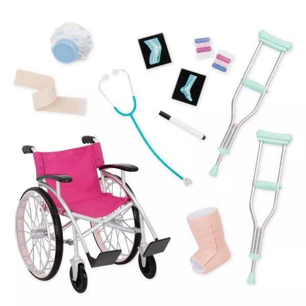 轮椅拐杖套装