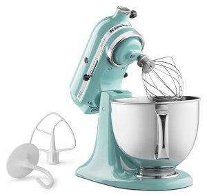 KitchenAid Artisan系列5夸脱厨房料理机送防溅罩+搅拌头