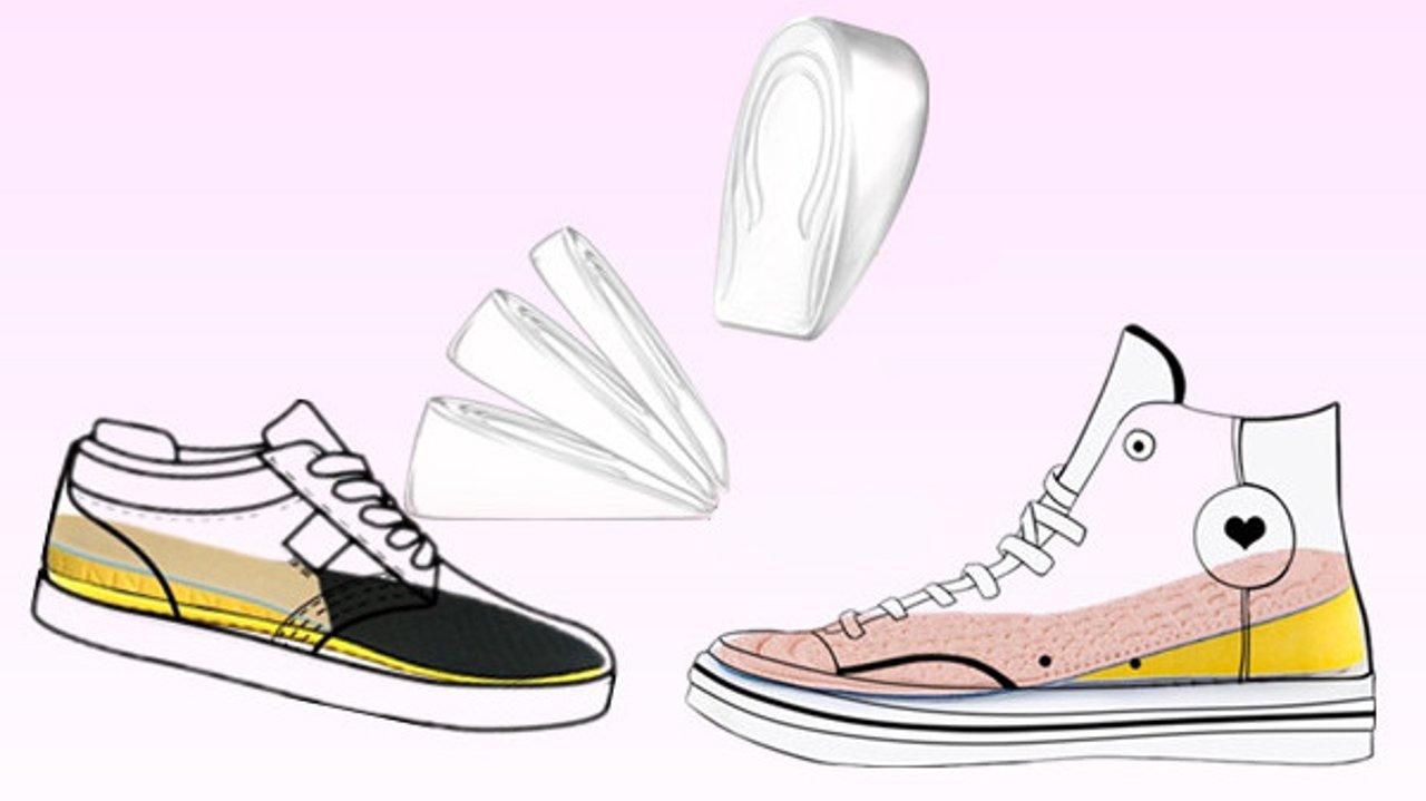 增高鞋垫秒变大长腿!增高鞋垫怎么选?如何搭配最舒服一贴Get!