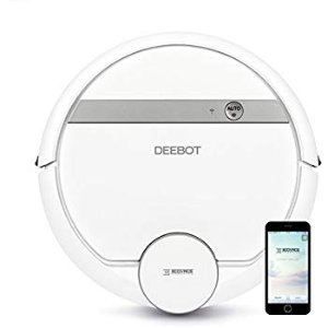 Amazon.com - ECOVACS DEEBOT 900 Smart Robotic Vacuum for Carpet, Bare Floors, Pet Hair, with Mapping Technology, Higher Suction Power, Wifi Connected and Compatible with Alexa and Google Assistant -