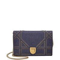 Dior ama 铆钉链条包