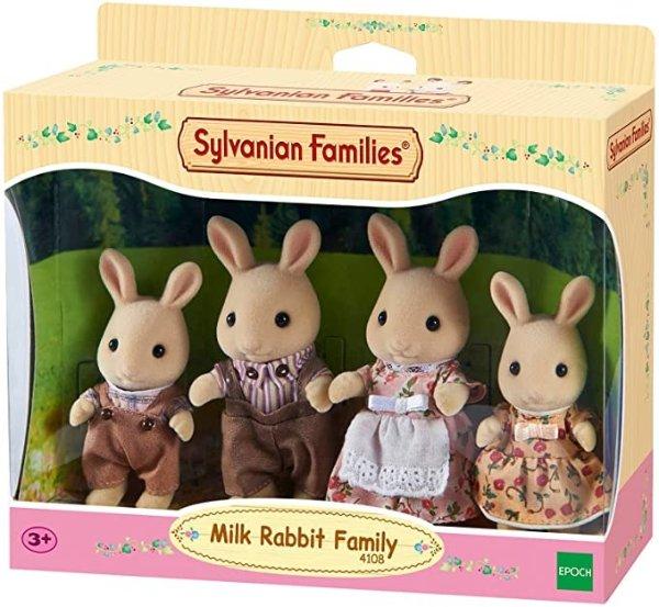 4108 Milk Rabbit Family Figure