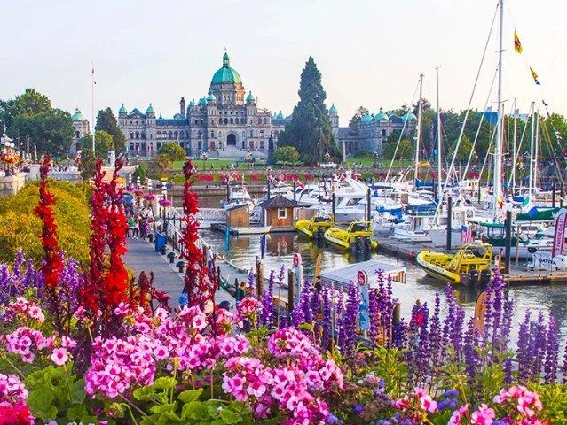 加拿大维多利亚Victoria旅游...