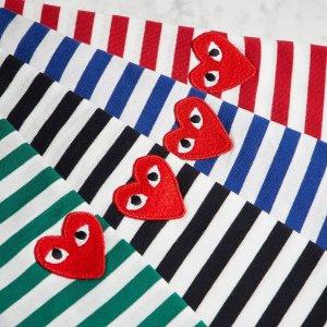 低至4折 CDG小红心T恤$72收Cettire 精选设计师品牌大促 Burberry也参加