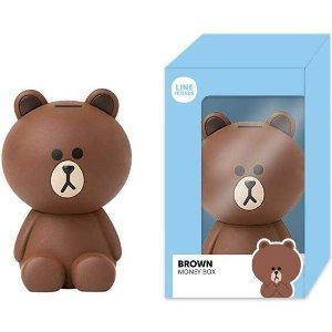 €12.99 超可爱布朗熊存钱罐带回家Line Friends周边产品 特价 存钱罐现价€12.99(原价€17.99)
