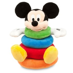 Disney15% off $50, 20% off $75, $25 off $100Mickey Mouse Plush Stacking Toy for Baby
