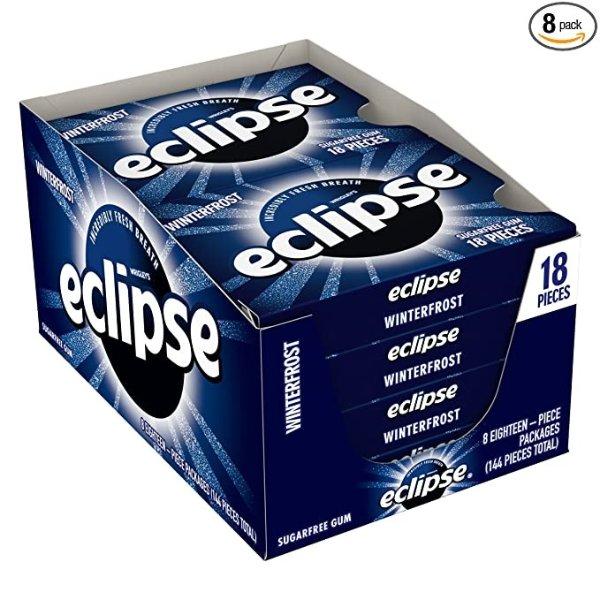 Eclipse 冬霜无糖口香糖8盒