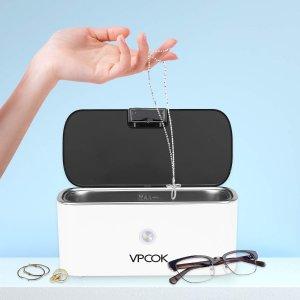 6.8折起 低至€9.99可收Amazon 超声波清洁机闪促 360°全面清洁 眼镜、首饰等均适用