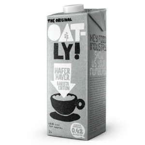 素食、乳糖不耐受均能喝Oatly 网红燕麦奶1L装