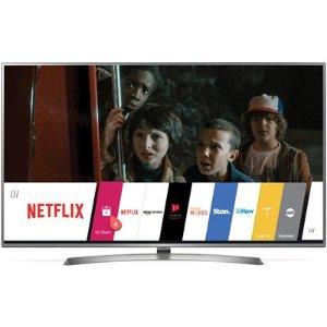 立减$1500LG 75寸 4K UHD超高清智能电视 75UJ657T