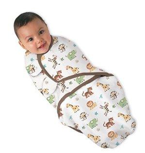 史低价 $4.24(原价$16.98)Summer Infant 全棉婴儿安全包巾 - 小/中号