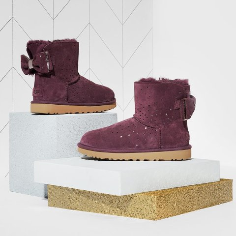 低至5折 超萌粉色毛毛拖鞋$44Nordstrom Rack 精选 UGG 多款男女式新款雪地靴、毛毛拖鞋热卖