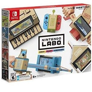 $33.99(原价$69.99)Nintendo Labo Variety Kit Switch 纸板游戏套装