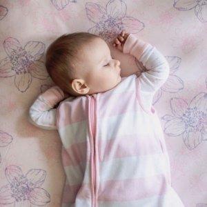 买2个,只要$30最后一天:Burt's Bees Baby 有机棉婴儿床床笠热卖 贴身的,就要有机的