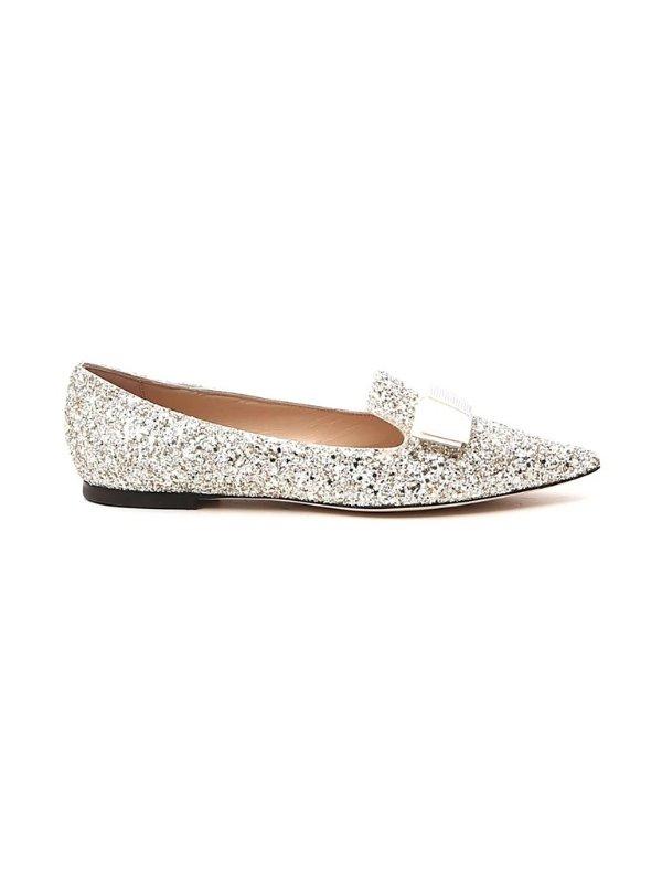 Gala Glittered 芭蕾平底鞋