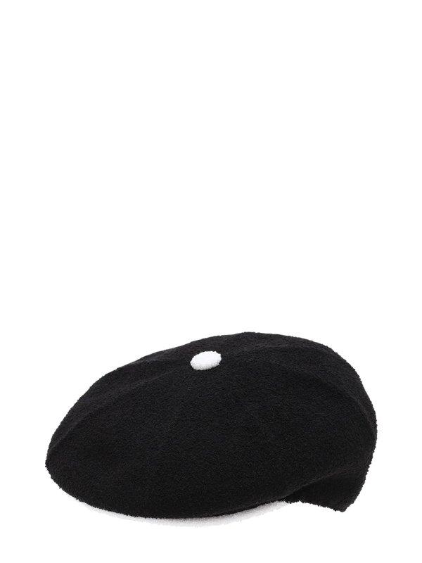 黑色贝雷帽