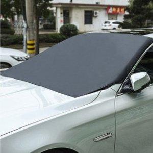 额外7.5折 仅需$9鼠你省钱:磁吸式挡风玻璃防雪罩 遮阳挡雪通用 告别挖车