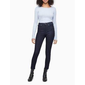 Calvin KleinSkinny High Rise Medium Wash Ankle Jeans