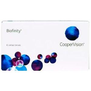Biofinity买$4盒 可享额外$25 rebate返现月抛隐形眼镜 1盒6片装