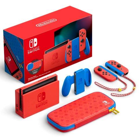 定价£299.99 等待补货上新:Nintendo Switch 马里奥限定版主机 全球首发 官网断货