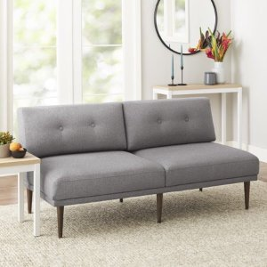 $99.60 (原价$399)Better Homes & Gardens 布艺沙发,灰色