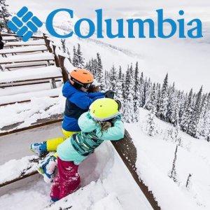 5起+无门槛免邮 低至$17.5Columbia 儿童冬季雪服特卖 开启梦幻雪国穿搭