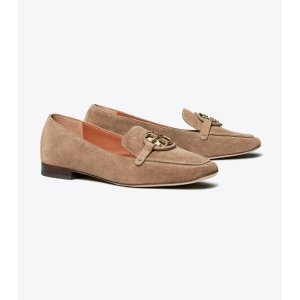 Tory BurchMiller Metal-Logo Loafer, SuedeSession is about to end