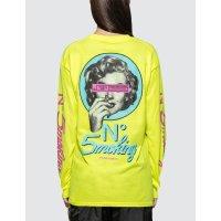 #FR2 荧光黄长袖T恤