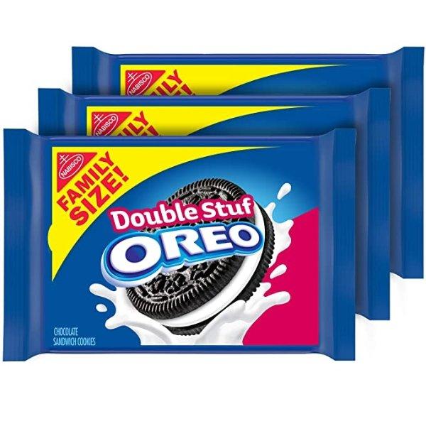 双重夹心饼干 家庭装 3包