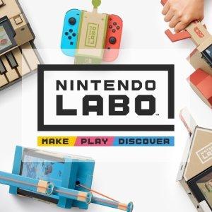 $39.99Nintendo Labo Switch 纸板游戏全款促销