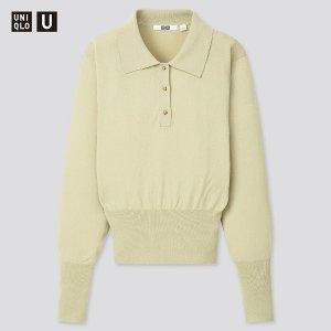 Uniqlo原价$49.9!U系列 Polo针织衫