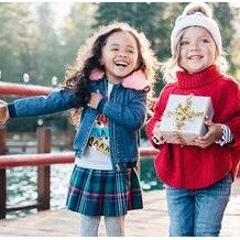 额外8折+免邮11.11独家:Gymboree 童装秋冬新款上线 红衣美裙迎圣诞