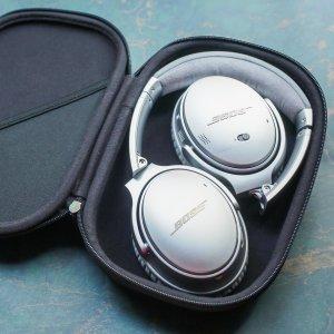 $399(原价$449)据说从来不打折的Bose QuietComfort 35 二代,Bose最牛的耳机,2色